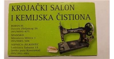 Krojacki Salon Borovje Krojacki Salon Krojacki Popravci I